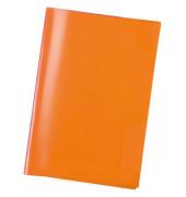 Heftschoner A5 transparent orange
