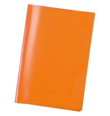 Heftschoner 7484 A5 Folie transparent orange
