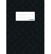 Heftschoner 7429 A5 Folie gedeckt schwarz