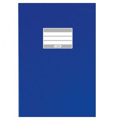 Heftschoner 7403 A6 Folie gedeckt dunkelblau