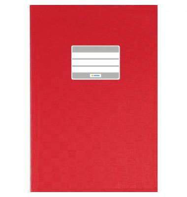 Heftschoner 7402 A6 Folie gedeckt rot