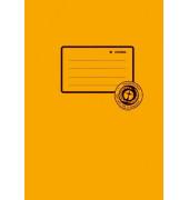 Heftschoner 5504 A5 Papier orange