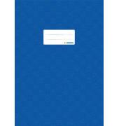 Heftschoner A4 gedeckt d'blau Folie opak