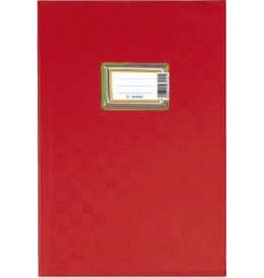 Heftschoner 7442 A4 Folie gedeckt rot