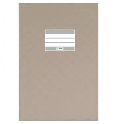 Heftschoner 7448 A4 Folie gedeckt grau