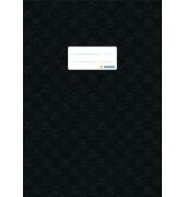 Heftschoner 7449 A4 Folie gedeckt schwarz