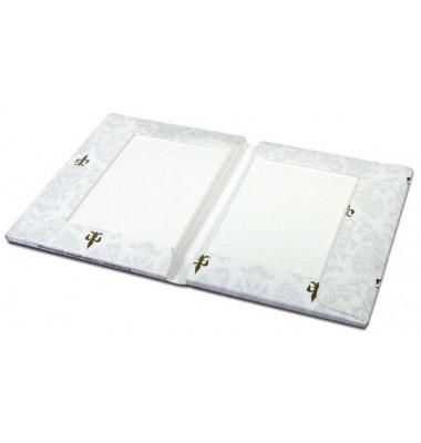Kartenmappe A6/C6 100g weiss 10er Pack