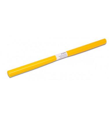 Buchschutzfolie 7361 40cm x 2m gelb transparent