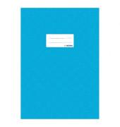 Heftschoner A4 gedeckt h'blau Folie opak