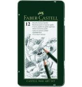Bleistifte Castell 9000 8B-2H