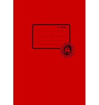 Heftschoner 5502 A5 Papier dunkelrot