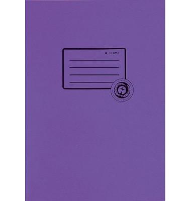 Heftschoner 5506 A5 Papier violett