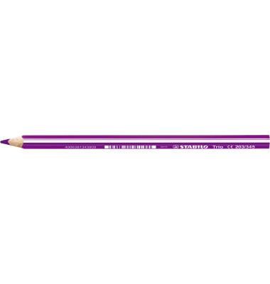 Buntstifte 203 Trio 4,2mm rot/violett 7 x 175mm