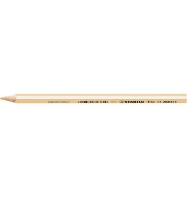 Buntstifte 203 Trio 4,2mm fleischfarben 7 x 175mm