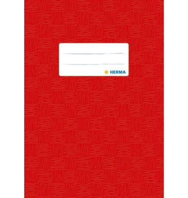 Heftschoner 7422 A5 Folie gedeckt rot