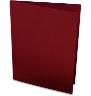 Doppelkarten A6 220g Rosso 5er Pack