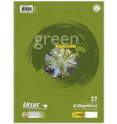 Collegeblock Green 608575010, A4 liniert, 70g 80 Blatt