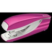 Heftgerät 30 Blatt metallic pink Blister