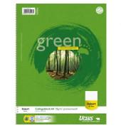 Collegeblock Green 608570010, A4 liniert, 70g 80 Blatt Recycling