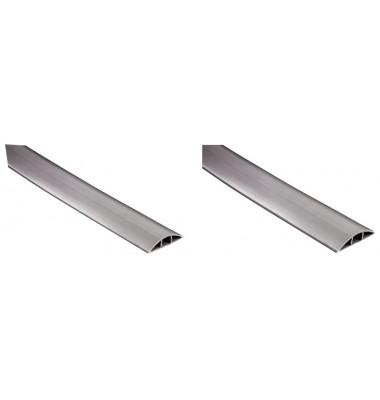 PVC-Kabelkanal Flexkanal grau