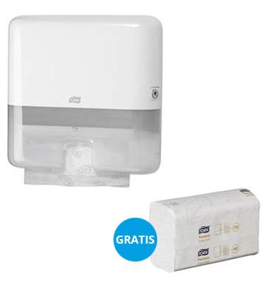 Papierhandtuchspender 952100 Elevation Starter Pack Mini H2 Multifold weiß