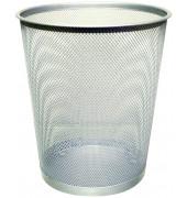 Drahtpapierkorb 19 Liter silber