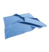 Tafelwischer Mikrofasertuch blau 40 x 40 cm trocken