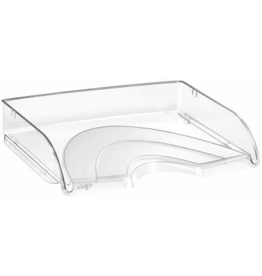 Briefablage Pro A4 / C4 quer glasklar stapelbar