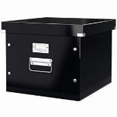 Hängemappenbox Click & Store schwarz 356 x 282 x 370 mm