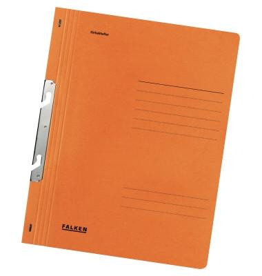 Einhakhefter  orange   1/1 Deckel