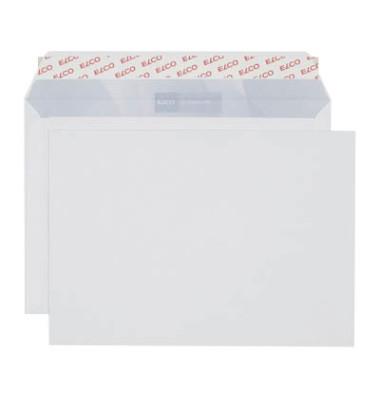 Versandtaschen Office C5 ohne Fenster haftklebend 100g weiß 100 Stück Öffnung an der langen Seite