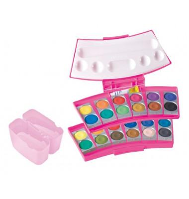 Farbkasten ProColor 24er pink