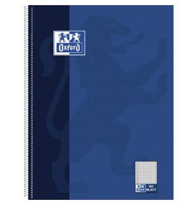 Collegeblock 100050358, A4+ kariert, 90g 80 Blatt, 4-fach-Lochung