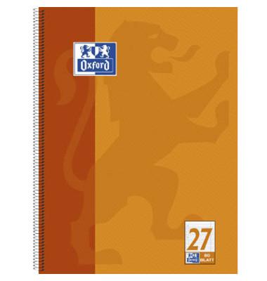 Collegeblock 100050360, A4+ liniert, 90g 80 Blatt, 4-fach-Lochung