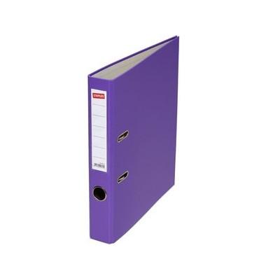 1094642 violett Ordner A4 50mm schmal