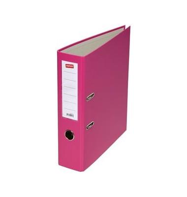 Ordner pink A4 80mm breit