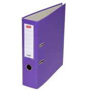 Ordner violett A4 80mm breit