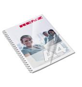 2001002 A4 Deckfolien transparent 0,2 mm A4