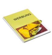 Umschlagfolien 20200074 A4 PVC 0,2 mm gelb-transparent glänzend 100 Stück