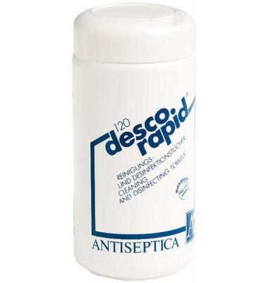 Desinfektionstücher Descorapid Dose 120 Tücher