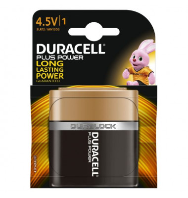 Batterie Plus Power Flachbatterie / 3LR12 / 4,5 V-Block