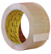 Packband 309T5066, 50mm x 66m, PP, leise abrollbar, transparent