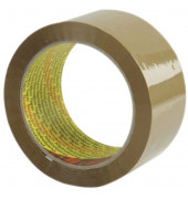 Packband Standard 371B5066, 50mm x 66m, PP, braun
