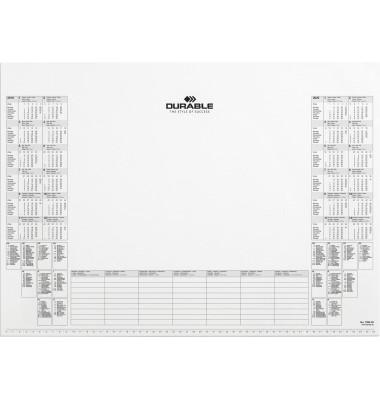 Kalenderschreibunterlage 7291 2 Jahresübersicht 57x40,5cm 25 Blatt ab 2020