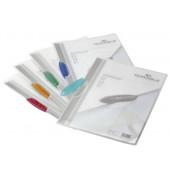 Klemmhefter SWINGCLIP 2284-00, A4, für ca. 30 Blatt, Kunststoff, transparent/farbig sortiert