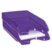 Briefablage Pro Happy A4 / C4 violett stapelbar