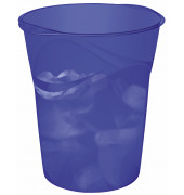 Papierkorb Happy 14 Liter ultramarin