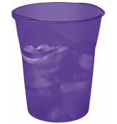 Papierkorb Happy 14 Liter violett