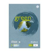 Briefblock Green Briefblock A4 weiß liniert 50 Blatt