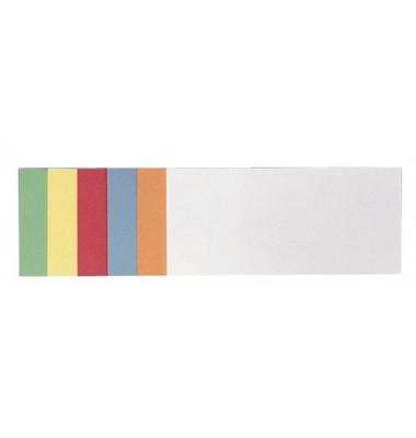 Moderationskarten Rechteck 14,9x9,8cm selbstklebend farbig sortiert 300 Stück